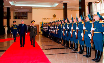 Ministers of Defense of Kazakhstan and Azerbaijan approved cooperation plan for 2016 (PHOTO)