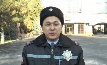 В Алматы полицейские предотвратили самоубийство девушки  (ВИДЕО)