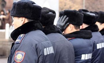 В Атырау сотрудники местной полицейской службы за час задержали грабителя