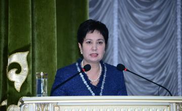 Secretary of State Gulshara Abdykalikova pays a visit to Almaty