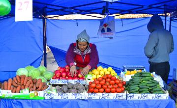 Алматы облысының шаруалары өнімдерін жәрмеңке арқылы сатты  (ФОТО)