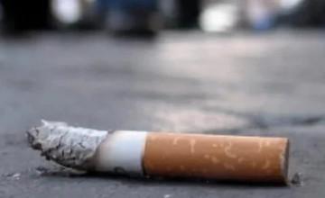 В  Атырау бросивший окурок на улице оштрафован на 19 820 тенге