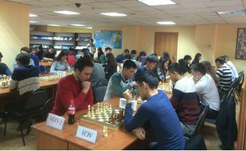 Алматыда студенттер шахматтан сайысқа түсті (ФОТО)