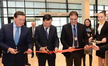 Новый терминал бизнес-авиации открыли в международном аэропорту Астаны