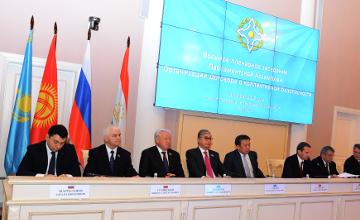 К.Токаев и К.Джакупов приняли участие в 8-ом пленарном заседании ПА ОДКБ