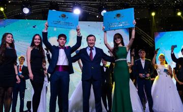 Астана әкімі бірінші курстықтарды студенттер қатарына қабылдануымен құттықтады (ФОТО)