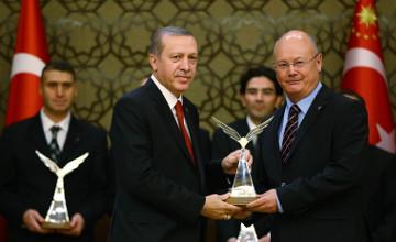 Казахстанец Марат Ахмет удостоен высшей научной награды Турции