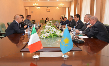 Kazakh Language and Culture Centre to be opened in Italy (PHOTO)