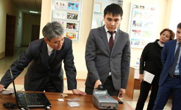 Нацгвардии РК передали умное устройство, способное «читать» человека (ФОТО)
