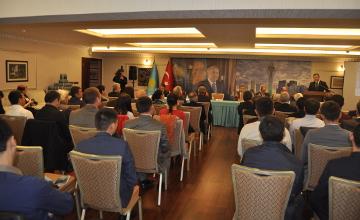 我国驻土耳其大使馆举行研讨会讨论纳扎尔巴耶夫总统今年国情咨文(图)