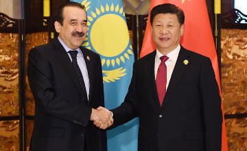 Kazakh PM meets with Chinese President Xi Jinping