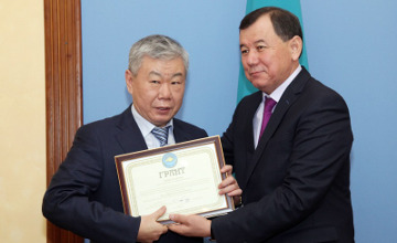 Zhambyl region Governor awarded grants to ethnic and cultural associations