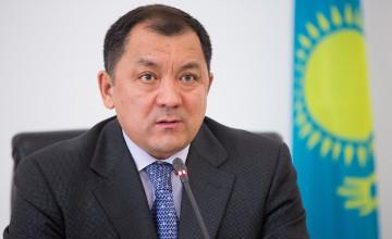 Аким ЗКО поздравил казахстанцев с Новым годом