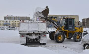 Атырау пытаются освободить от последствий аномальных снегопадов (ФОТО)