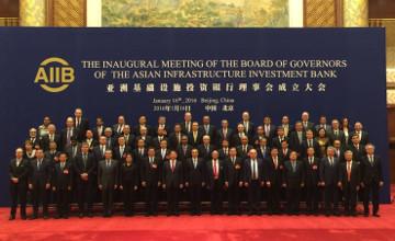 多萨耶夫率团出席亚投行开业仪式