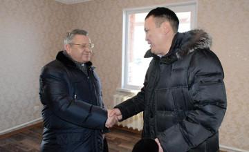 В с.Родина Акмолинской области построили дома по госпрограмме «Нурлы жол» (ФОТО)