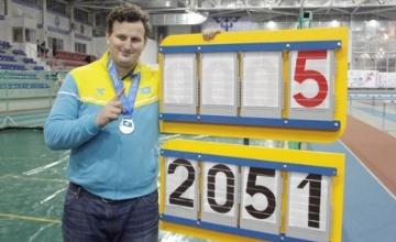 Ivan Ivanov Qazaqstan rekordyn jańartyp, jeńil atletıkadan el chempıonatynda jeńiske jetti