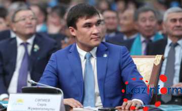 Серик Сапиев намерен пропагандировать спорт во всех регионах Казахстана