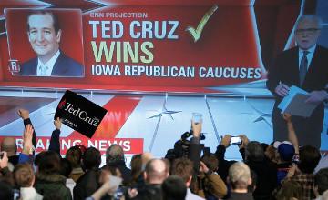 Айовадағы бастапқы сайлауда Тед Круз Дональд Трампты артқа тастады
