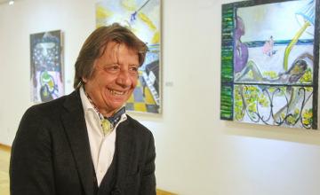 В Алматы открылась выставка итальянского художника Джози Беретта (ФОТО)
