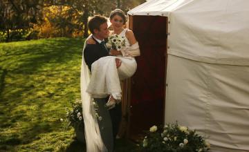 Свадьба в юрте стала модным трендом в Великобритании (ФОТО)