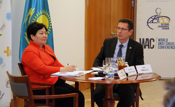Kazakhstan takes part in 'Responding to current challenges in trafficking in human beings' discussion in New York