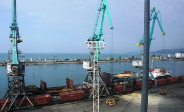 NATO ships enter Georgia's Batumi port