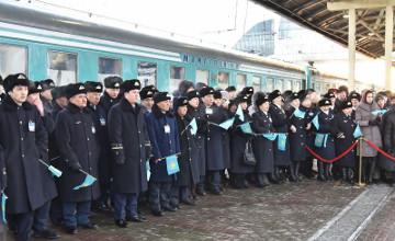 """""""永恒的国家""""专列宣传活动正式启动 庆祝哈萨克斯坦独立25周年"""