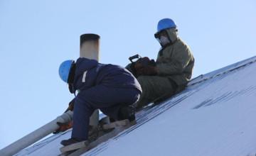 Спасатели помогли прочистить дымоходы в домах жителей Аксу