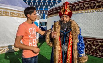ЭКСКЛЮЗИВ: Создатель силиконовых скульптур Н.Назарбаева и Б.Обамы мечтает открыть в Астане музей (ФОТО, ВИДЕО)
