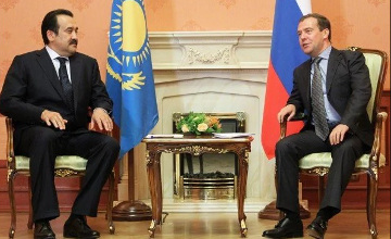 K. Massimov and D. Medvedev discussed cooperation within EEU