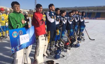 Хоккей с мячом: Сборная ЗКО стала чемпионом Казахстана (ФОТО)