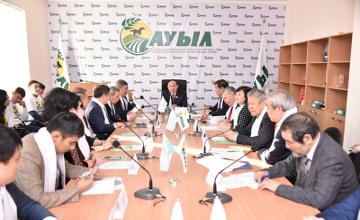 Представители партии «Ауыл» и интеллигенции обсудили пути развития села (ФОТО)