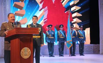 В Атырау воинская часть Национальной гвардии РК отпраздновала юбилей (ФОТО)