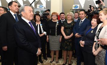 Н. Назарбаев призвал развивать инновационное мышление у детей со школьной скамьи