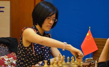 Hou Yifan from China wins Women World Chess Championship