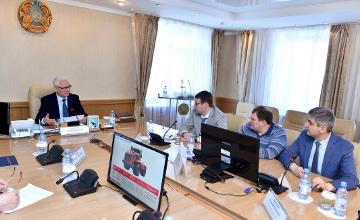 СКО будет сотрудничать с Петербургским тракторным заводом