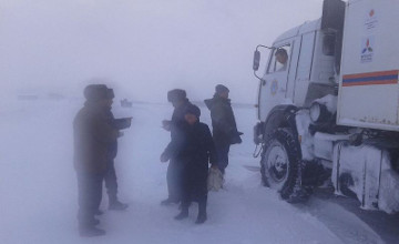 More than 100 people rescued from snow blockades in N Kazakhstan (PHOTO)