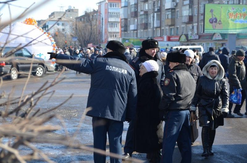 На усиленный режим перейдут полицейские Павлодара на Наурыз
