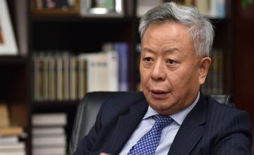 专访:金立群否认亚投行是中国的工具