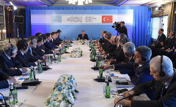 Kazakhstan, Turkey want to increase two-way trade up to $10 bln