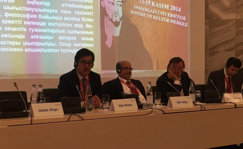 Г.Мутанов представил проект «Al-Farabi university smart city» на Глобальном форуме Альянса цивилизаций ООН