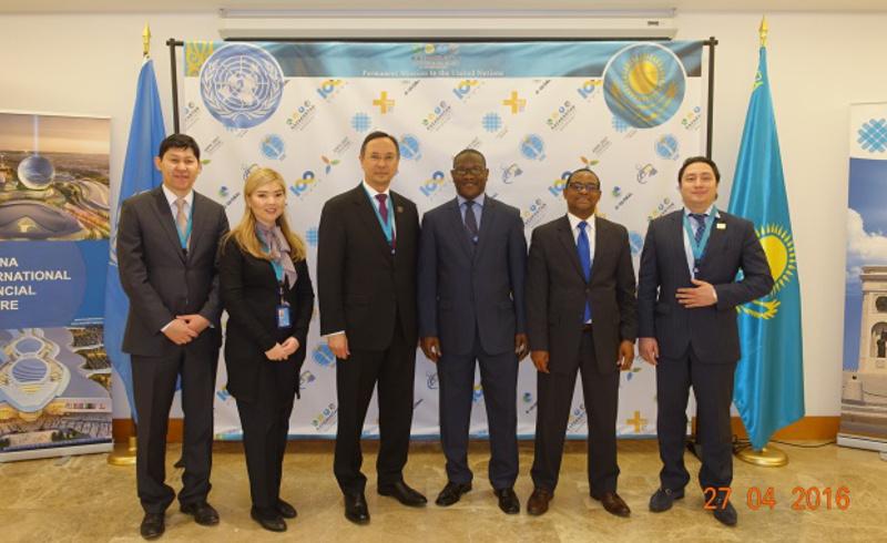 Казахстан и Либерия установили дипломатические отношения