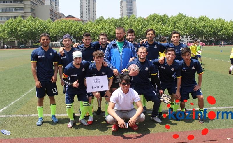 «Болашаковцы» заняли первое место на студенческом чемпионате по футболу в Шанхае (ФОТО)