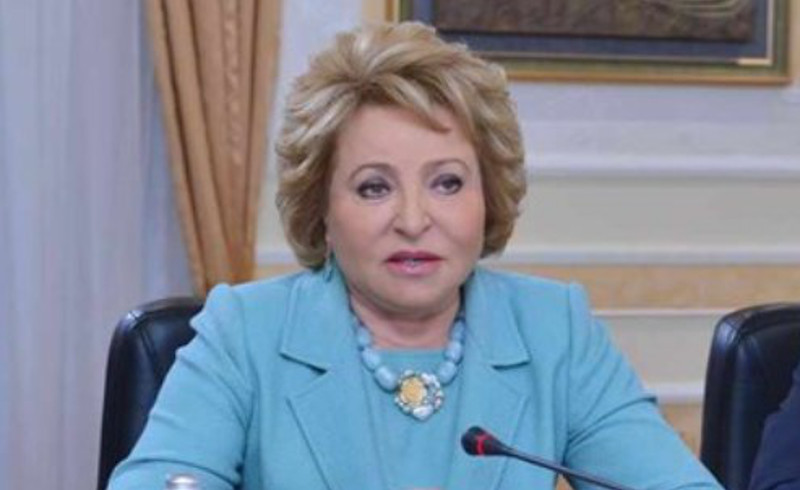 V. Matviyenko: Russia highly appreciates visit of N. Nazarbayev to Moscow on Victory Day