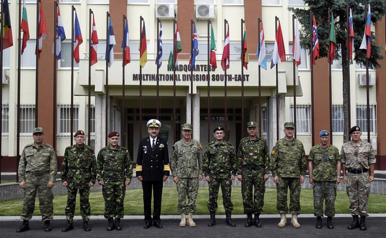 New NATO division becomes partly functional in Bucharest