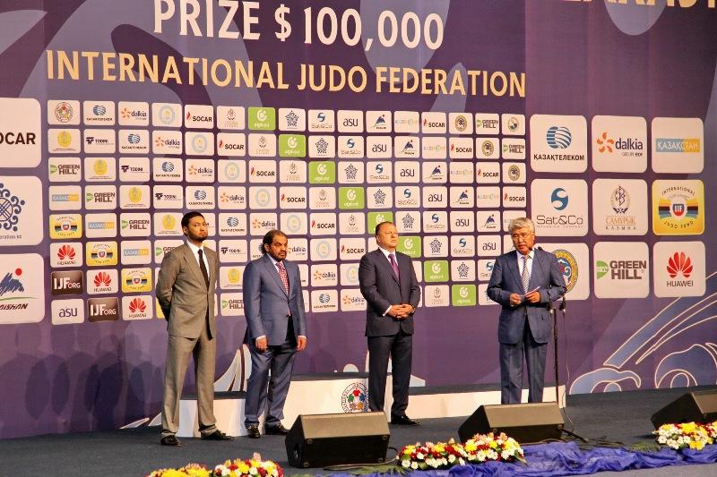Казахстан занял четвертое место в медальном зачете на гран-при по дзюдо