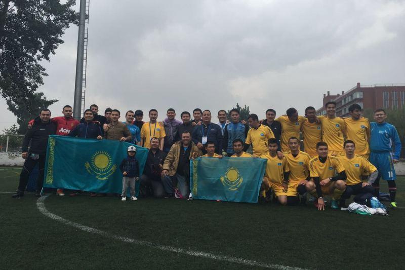 Казахстан завоевал первое место на международном турнире по футболу в Китае (ФОТО)