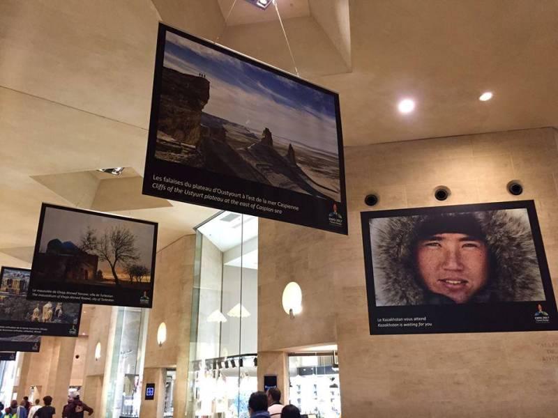 Фотовыставка «Чудеса Казахстана» открылась в Париже (ФОТО)