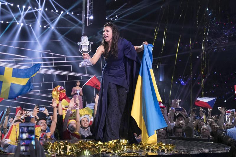 Ukraine wins 2016 Eurovision song contest